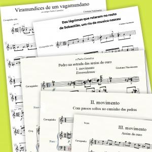 Cristiano Nascimento - 12 pièces pour cavaquinho solo
