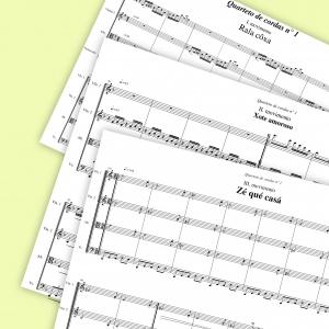 Cristiano Nascimento - Quatuor à cordes